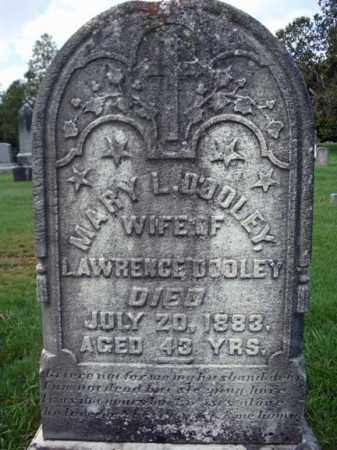 DOOLEY, MARY L - Washington County, New York | MARY L DOOLEY - New York Gravestone Photos