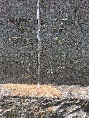 KELLEY DUNN, ESTHER - Washington County, New York | ESTHER KELLEY DUNN - New York Gravestone Photos