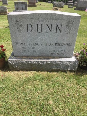 DUNN, JEAN - Washington County, New York | JEAN DUNN - New York Gravestone Photos