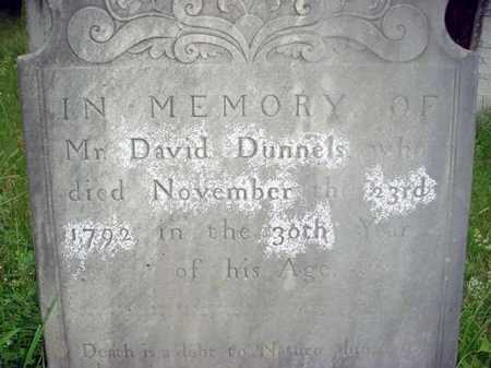 DUNNELS, DAVID - Washington County, New York | DAVID DUNNELS - New York Gravestone Photos