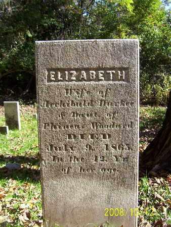 WOODWARD DURKEE, ELIZABETH - Washington County, New York | ELIZABETH WOODWARD DURKEE - New York Gravestone Photos
