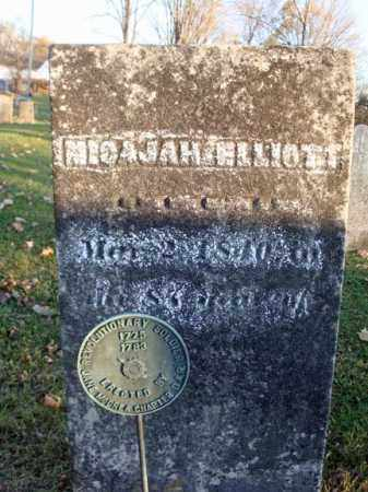 ELLIOTT (RW), MICAJAH - Washington County, New York | MICAJAH ELLIOTT (RW) - New York Gravestone Photos
