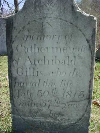 GILLIS, CATHERINE - Washington County, New York | CATHERINE GILLIS - New York Gravestone Photos