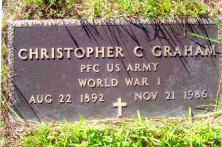 GRAHAM (WWI), CHRISTOPHER COLUMBUS - Washington County, New York | CHRISTOPHER COLUMBUS GRAHAM (WWI) - New York Gravestone Photos