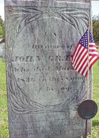 GRAY (RW), JOHN - Washington County, New York   JOHN GRAY (RW) - New York Gravestone Photos