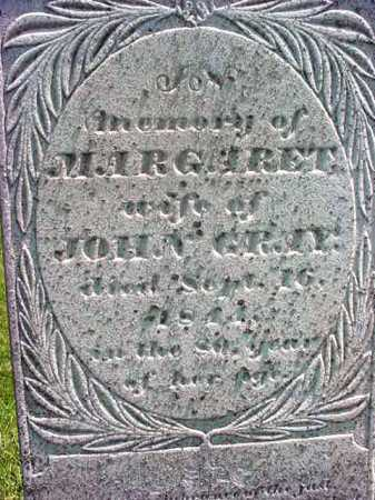 GRAY, MARGARET - Washington County, New York | MARGARET GRAY - New York Gravestone Photos
