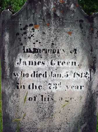 GREEN, JAMES - Washington County, New York | JAMES GREEN - New York Gravestone Photos