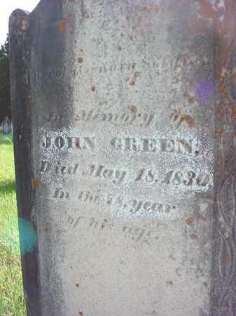 GREEN, JOHN - Washington County, New York | JOHN GREEN - New York Gravestone Photos