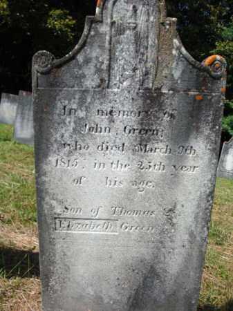 GREEN, JOHN - Washington County, New York   JOHN GREEN - New York Gravestone Photos