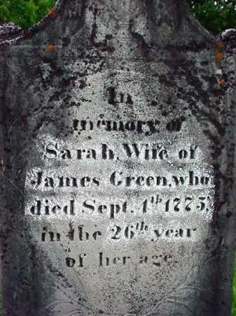 GREEN, SARAH - Washington County, New York | SARAH GREEN - New York Gravestone Photos