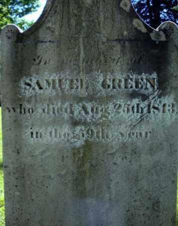 GREEN, SAMUEL - Washington County, New York   SAMUEL GREEN - New York Gravestone Photos