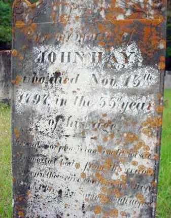 HAY, JOHN - Washington County, New York | JOHN HAY - New York Gravestone Photos