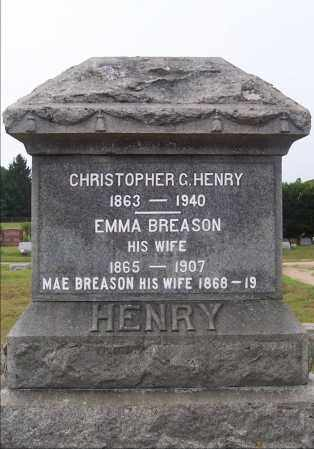 HENRY, EMMA - Washington County, New York | EMMA HENRY - New York Gravestone Photos