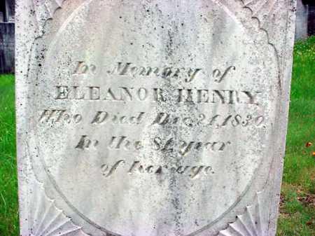 HENRY, ELEANOR - Washington County, New York | ELEANOR HENRY - New York Gravestone Photos