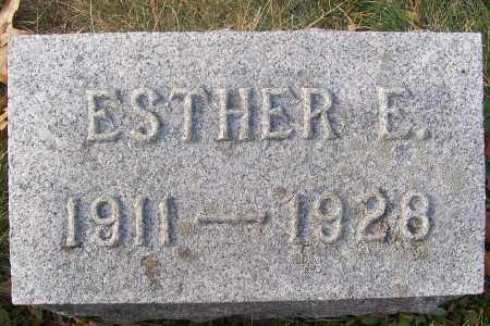 HENRY, ESTHER ELIZABETH - Washington County, New York | ESTHER ELIZABETH HENRY - New York Gravestone Photos