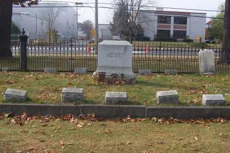 HENRY, FAMILY LOT - Washington County, New York | FAMILY LOT HENRY - New York Gravestone Photos