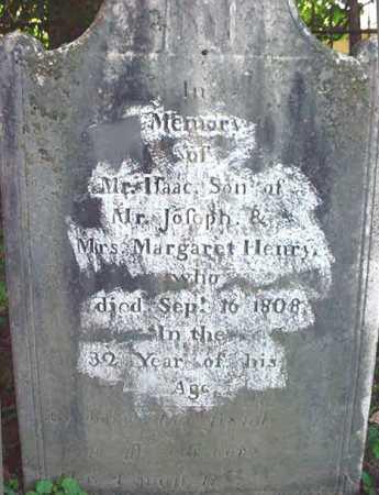 HENRY, ISAAC - Washington County, New York | ISAAC HENRY - New York Gravestone Photos