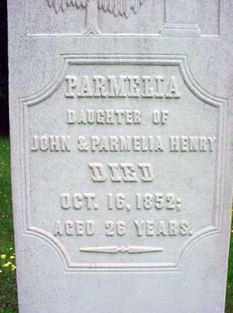 HENRY, PARMELIA - Washington County, New York | PARMELIA HENRY - New York Gravestone Photos