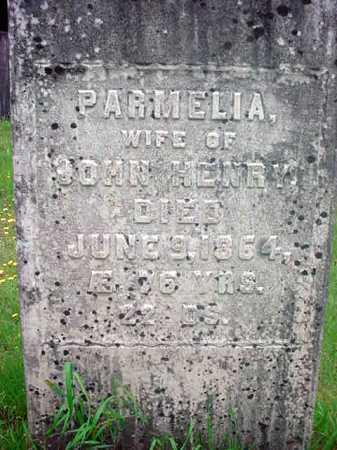 HENRY, PARMELIA - Washington County, New York   PARMELIA HENRY - New York Gravestone Photos