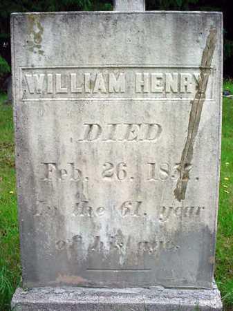 HENRY, WILLIAM - Washington County, New York   WILLIAM HENRY - New York Gravestone Photos