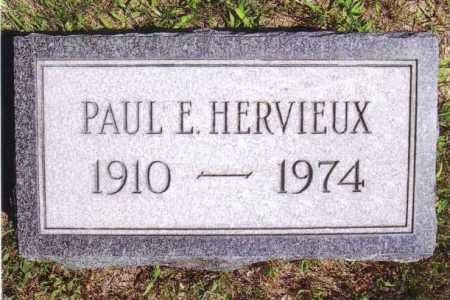 HERVIEUX, PAUL E. - Washington County, New York | PAUL E. HERVIEUX - New York Gravestone Photos