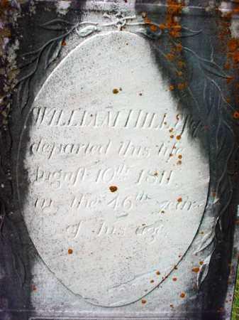 HILL, WILLIAM - Washington County, New York | WILLIAM HILL - New York Gravestone Photos