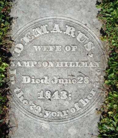 HILLMAN, DEMARUS - Washington County, New York   DEMARUS HILLMAN - New York Gravestone Photos