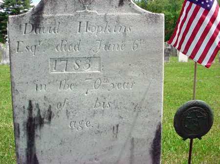HOPKINS (RW), DAVID - Washington County, New York | DAVID HOPKINS (RW) - New York Gravestone Photos