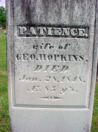 HOPKINS, PATIENCE - Washington County, New York | PATIENCE HOPKINS - New York Gravestone Photos