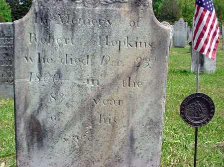 HOPKINS (RW), ROBERT - Washington County, New York | ROBERT HOPKINS (RW) - New York Gravestone Photos
