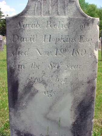 POLK HOPKINS, SARAH - Washington County, New York | SARAH POLK HOPKINS - New York Gravestone Photos