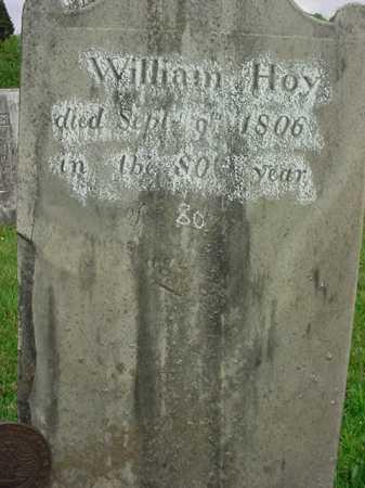 HOY, WILLIAM - Washington County, New York   WILLIAM HOY - New York Gravestone Photos