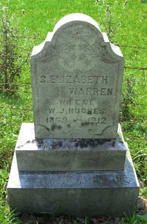 HUGHES, S. ELIZABETH - Washington County, New York | S. ELIZABETH HUGHES - New York Gravestone Photos
