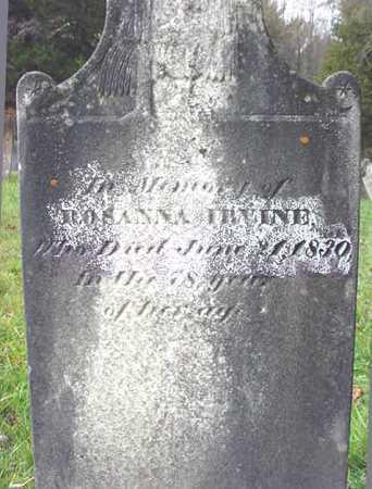 IRVINE, ROSANNA - Washington County, New York   ROSANNA IRVINE - New York Gravestone Photos