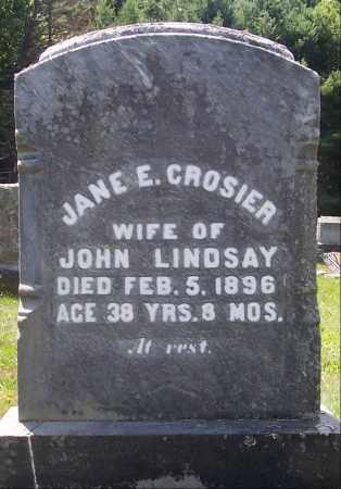 CROSIER, JANE E - Washington County, New York | JANE E CROSIER - New York Gravestone Photos