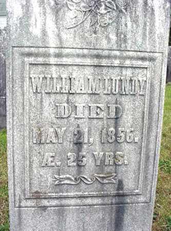 LUNDY, WILLIAM - Washington County, New York | WILLIAM LUNDY - New York Gravestone Photos