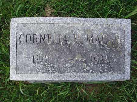 MAHAR, CORNELIA M - Washington County, New York | CORNELIA M MAHAR - New York Gravestone Photos