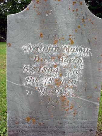 MASON, NATHAN - Washington County, New York | NATHAN MASON - New York Gravestone Photos