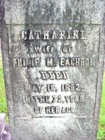 MCEACHRON, CATHARINE - Washington County, New York | CATHARINE MCEACHRON - New York Gravestone Photos