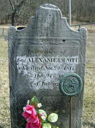MCNITT, ALEXANDER - Washington County, New York | ALEXANDER MCNITT - New York Gravestone Photos