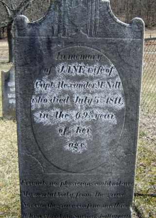 MCNITT, JANE - Washington County, New York | JANE MCNITT - New York Gravestone Photos