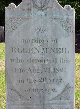 MCNEIL, ELEAN ANN ELLEN - Washington County, New York | ELEAN ANN ELLEN MCNEIL - New York Gravestone Photos