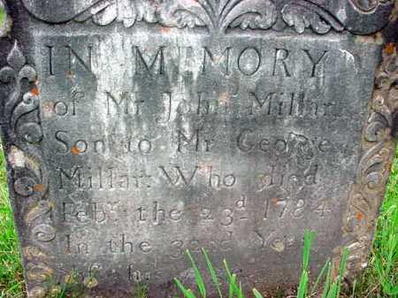 MILLAR, JOHN - Washington County, New York | JOHN MILLAR - New York Gravestone Photos