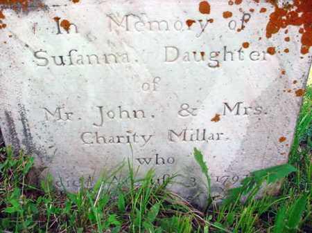 MILLAR, SUSANNA - Washington County, New York | SUSANNA MILLAR - New York Gravestone Photos