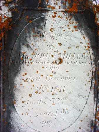 MILLER (RW), JOHN - Washington County, New York | JOHN MILLER (RW) - New York Gravestone Photos