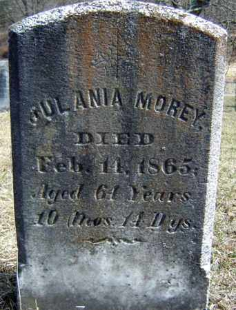 MOREY, JULANIA - Washington County, New York | JULANIA MOREY - New York Gravestone Photos