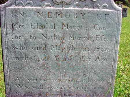 MORGAN, ELIPHAL - Washington County, New York | ELIPHAL MORGAN - New York Gravestone Photos