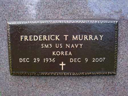 MURRAY, FREDERICK T - Washington County, New York | FREDERICK T MURRAY - New York Gravestone Photos