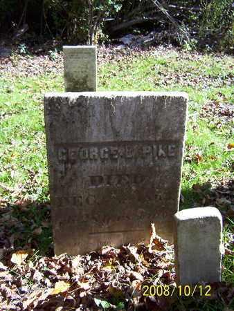 PIKE, GEORGE L. - Washington County, New York | GEORGE L. PIKE - New York Gravestone Photos