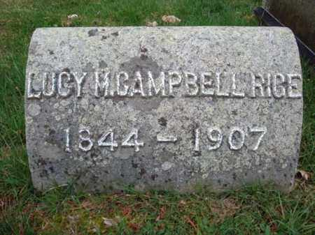 CAMPBELL, LUCY M - Washington County, New York | LUCY M CAMPBELL - New York Gravestone Photos
